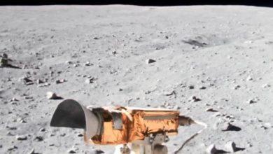 Photo of Ютубер поліпшив ролик, знятий місячним ровером «Аполлона-16»