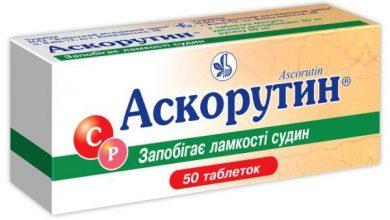 Photo of Для чого при хронічних захворюваннях необхідно приймати ліки Аскорутин