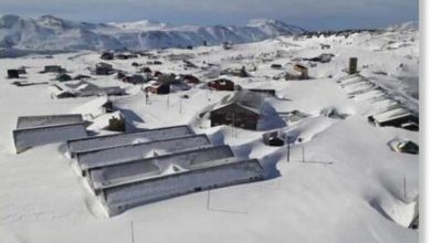 Photo of Сніг в Андах досягає глибини 7 метрів