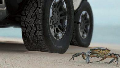 Photo of Електричний Hummer зможе їздити як краб (відео)