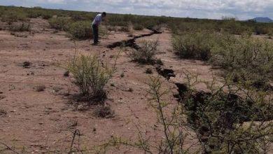Photo of У мексиканській пустелі Хіменес утворилася гігантська тріщина