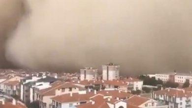 Photo of З'явилося відео піщаної бурі, що поглинула Анкару
