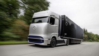 Photo of Mercedes-Benz показав прототип вантажівки з водневим двигуном