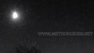 Photo of Падіння метеорита зафіксували в Іспанії