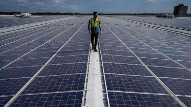 Photo of Amazon перетворила свій склад в сонячну електростанцію