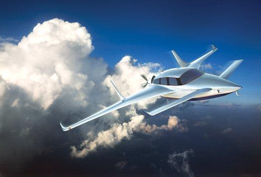 Гібридний gt4 літак майбутнього