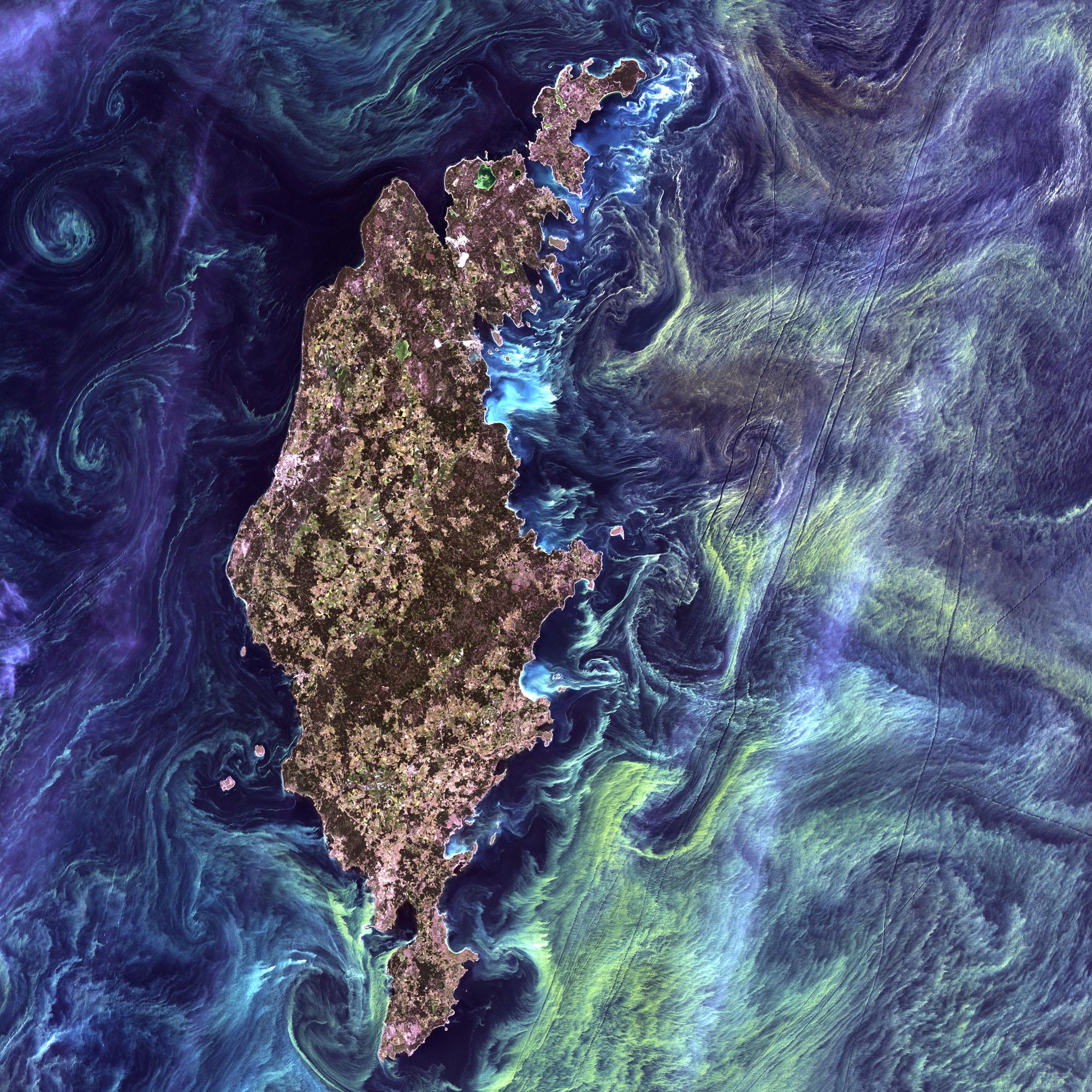 Земля як мистецтво -  фотографії зі супутника Landsat