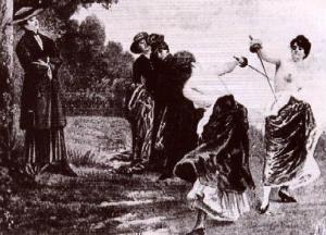 Цікаві факти про дуелі жінок