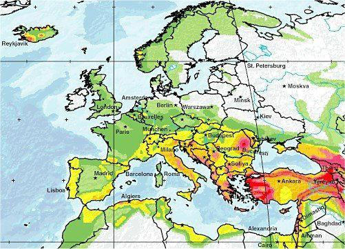 Чи варто європейцям боятися землетрусів?