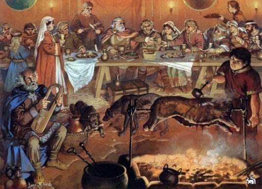 Як харчувалися люди Середньовіччя