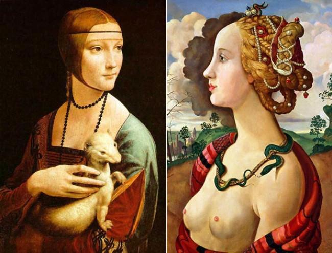 Ідеал жінки в різні епохи (14)