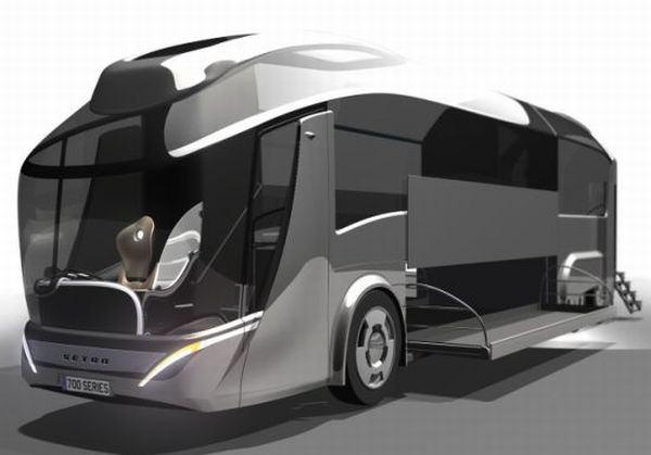 Концепт еко-автобуса Setra Coach