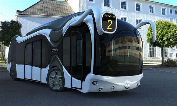 Концепт еко-автобуса Credo E-Bone