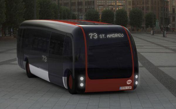 Концепт еко-автобуса B2us