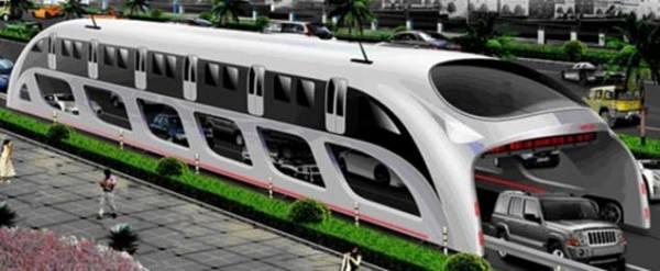 Концепт еко-автобуса 3D Express Coach