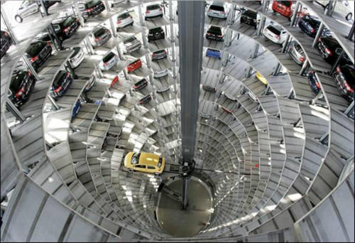 По-справжньому «розумна» парковка