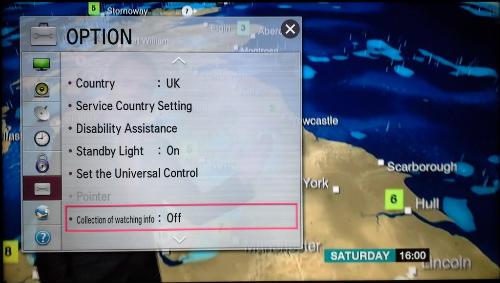 Розумні телевізори LG викрили в стеженні за власниками