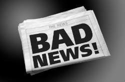 Людина звикає до читання поганих новин