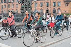 У Європі велосипеди популярніші від автомобілів