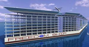 FREEDOM SHIP - концепт першого в світі плавучого міста