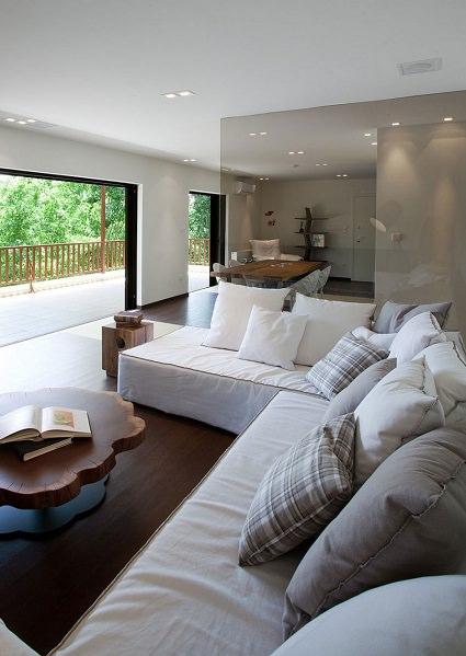 Елегантний і стильний дизайн квартири по- грецьки (2)