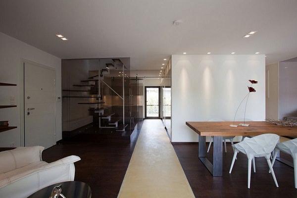 Елегантний і стильний дизайн квартири по- грецьки (4)