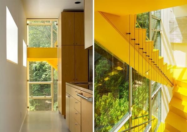 Заміський будинок у лісі - Tower House від студії Gluck+ (7)