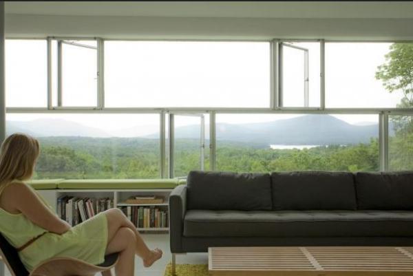 Заміський будинок у лісі - Tower House від студії Gluck+ (8)