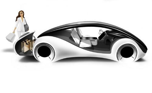 Apple запатентувала ґібрид автомобіля і iPhone (2)