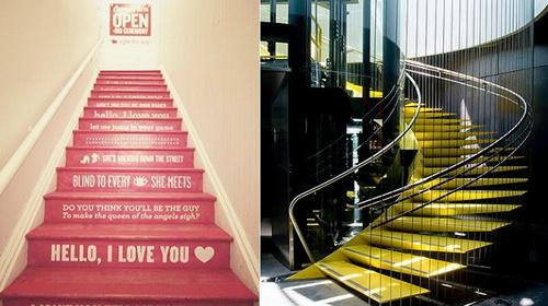Незвичайні ідеї для сходів