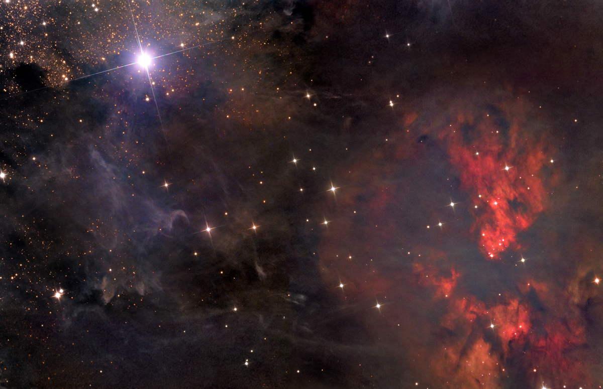 Всесвіт: відображення протистоянння добра та зла. Фото