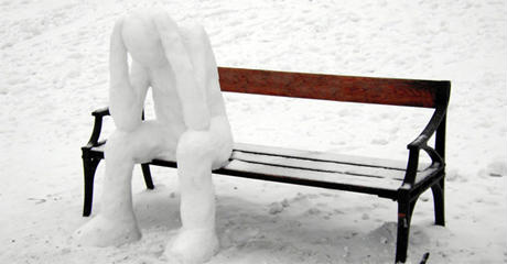 Більшість людей важко переносять зиму