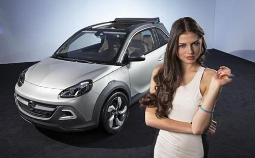 Компактний кабріолет Opel Adam (3)