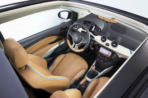 Компактний кабріолет Opel Adam (2)
