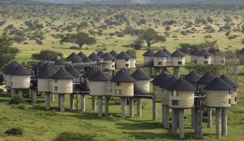 Дивовижні готелі світу (10)
