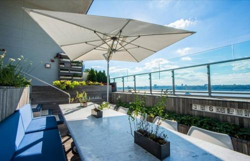 На даху готелю з'явився незвичайний ресторан з басейном і фермою (3)