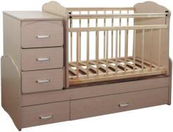 Види дитячого ліжечка