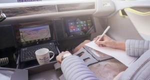 В епоху самокерованих автономних автомобілів без водія, вас ніхто не буде звинувачувати за телефонні розмови під час водіння. Справа в тому, що офісом майбутнього цілком може стати одна з таких машин. Rinspeed, швейцарський виробник автомобілів, що створює екзотичні концепт-кари з 1991 року, створив концептуальний мобільний офіс і конференц-центр спеціально для Женевського автосалону. Названий Xchange, концепт бере за основу седан Tesla Model S і втілює в ньому ідеальну поїздку бізнес-класу - тихий зручний куточок, в якому можна буде працювати чи навіть спати по дорозі в офіс. У Xchange звичайне кермо зсувається в бік, дозволяючи пасажирам витягнути стіл для своїх ноутбуків, говорити лицем до лиця на швидкості в 100 км / год або навіть відкинутися і поспати. Завдяки сидінням, розробленим Otto Bock Mobility Solutions, виробника медичних протезів, пасажири зможуть перебувати в одному з 20 різних положень. Кожне положення зроблено зі зручністю, можна витягнути ноги і дістати гріючі мішечки для ніг або ж подивитися телевізор у високому дозволі. За словами засновника Rinspeed Франка Ріндеркнехт, Xchange був розроблений з метою розвитку ідеї про те, що коли автономні автомобілі стануть реальністю, наше традиційне мислення про місце роботи може істотно змінитися. «До цих пір ніхто не розглядав це питання з точки зору водія, - говорить Ріндеркнехт в офіційному прес -релізі. - Як сконструювати інтер'єр транспорту, щоб максимально і оптимально використовувати корисний час?» Xchange багатьом може здатися дивним, але коли автомобілі стануть абсолютно автономними, ідея того, що людина буде одночасно і в офісі, і за кермом свого транспортного засобу, швидше за все, буде такою ж дивною, як і те, що пасажири бізнес-класу літають літаками. Зрештою, коли ми звільняємося від фактичної необхідності відвозити себе з точки А в точку Б, дивлячись на бампер, краще витрачати час з користю.