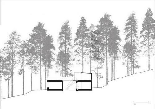 Вілла Nyberg: круглий пасивний будинок у Швеції (10)