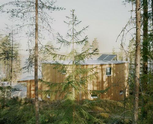 Вілла Nyberg: круглий пасивний будинок у Швеції (6)