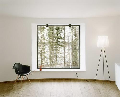Вілла Nyberg: круглий пасивний будинок у Швеції (7)