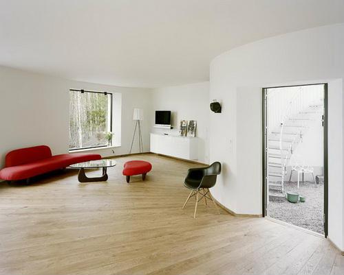 Вілла Nyberg: круглий пасивний будинок у Швеції (9)
