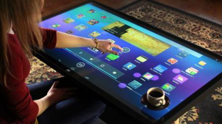 Ideum Platform 46 - журнальний стіл під управлінням Android