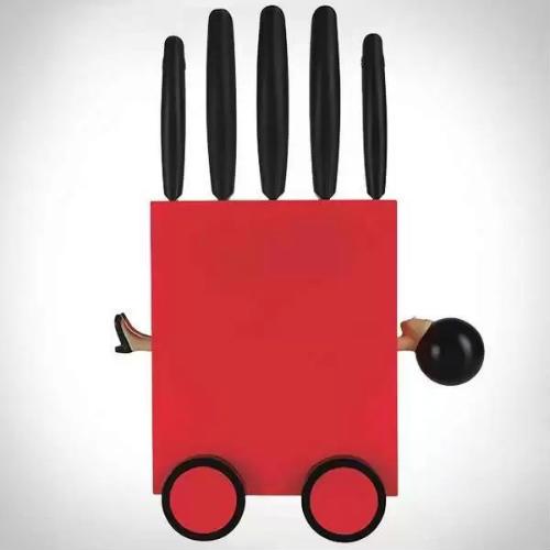 Огляд лякаючих і веселих дизайнерських фантазій на тему столових ножів (5)