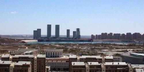 Китайський Ордос: найбільше місто-привид в світі (7)