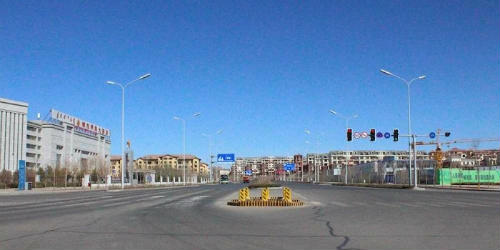 Китайський Ордос: найбільше місто-привид в світі (19)
