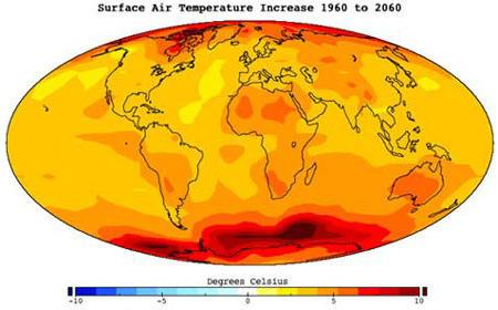 Потепління клімату в довгостроковій перспективі буде значним