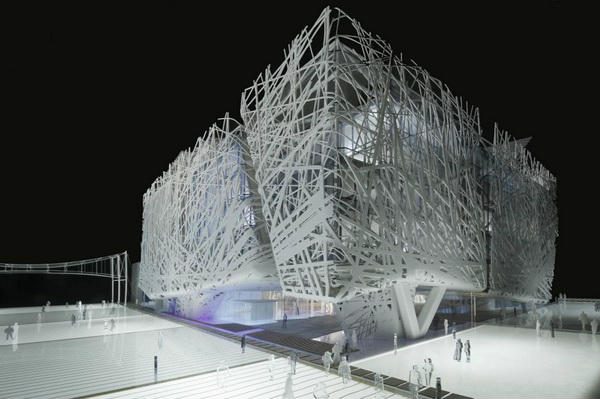 Palazzo Italia visto dal Cardo-01.06.2014_resized
