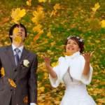 Весілля в осінньому стилі