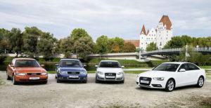 Компанія Audi святкує 20-річний ювілей моделі A4